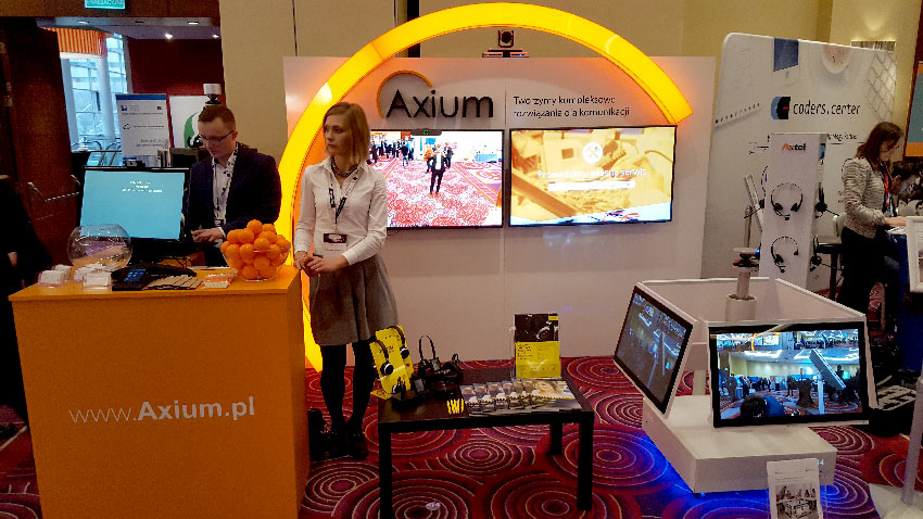 Axium at IT@BANK - fruitful discussions in the world of finance