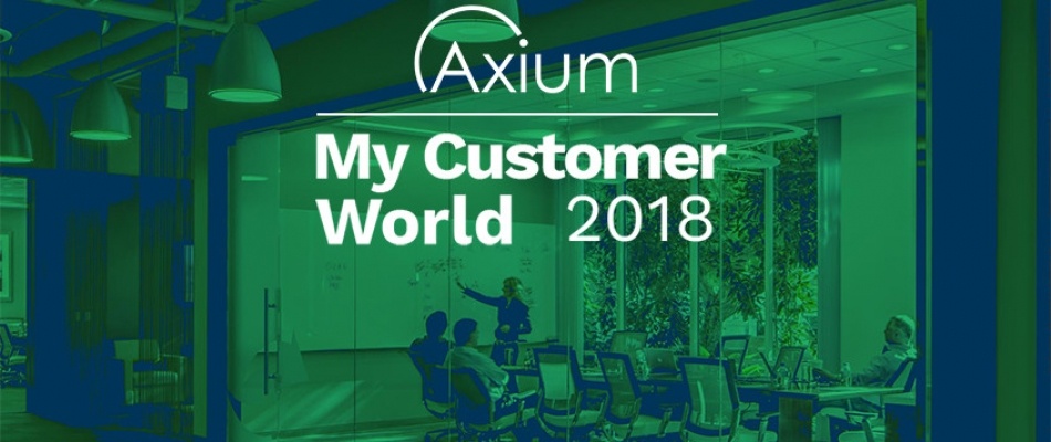 Axium visit My Customer World