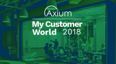 Axium na My Customer World